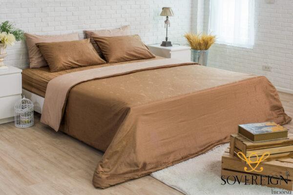 ชุดเครื่องนอน ผ้าปูที่นอน สีทอง
